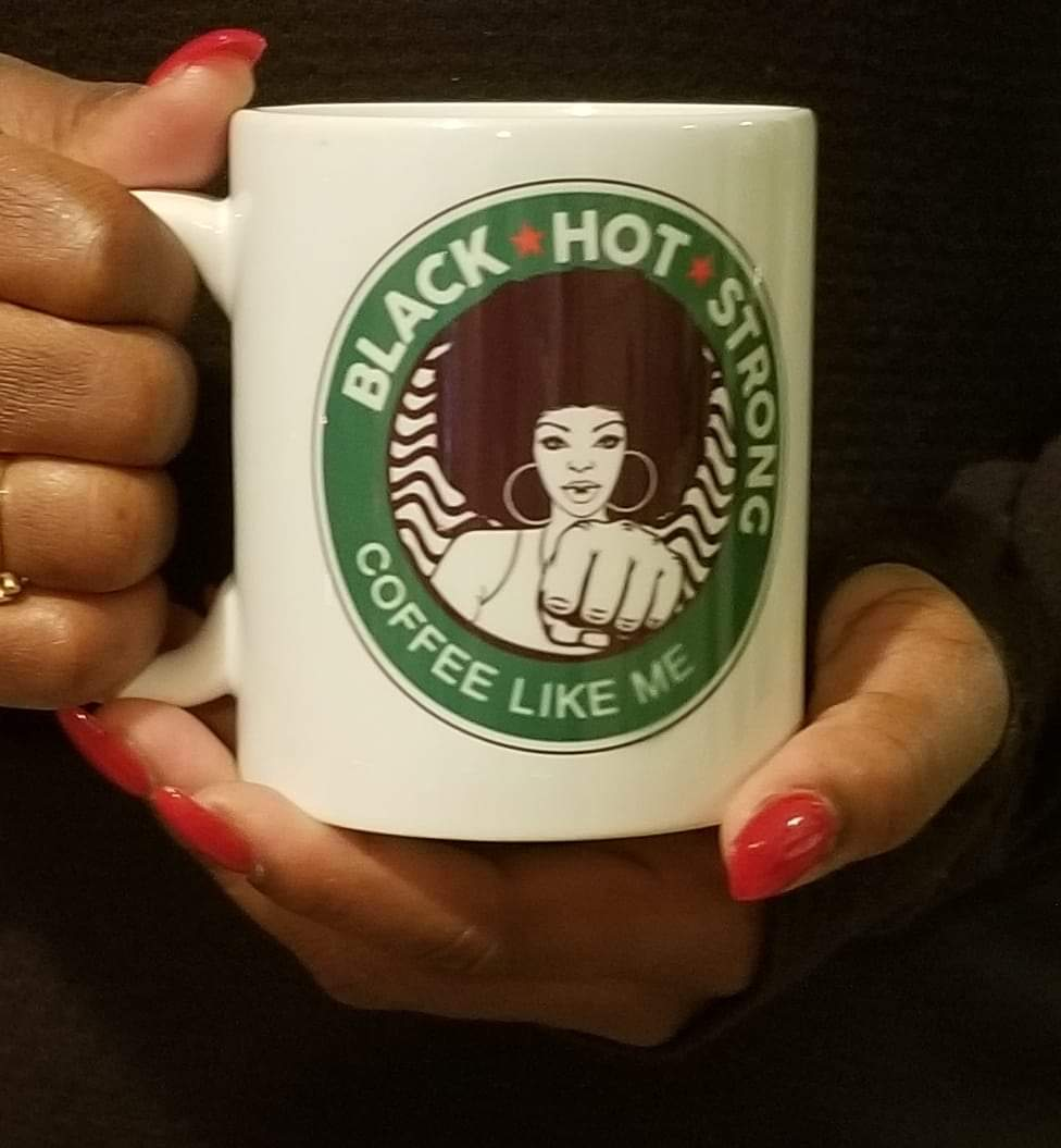 Black Like Me Coffee Mug-Girl Power-Black Girl Magic-Melanin Magic-Melanin Barbie-Coffee Mug