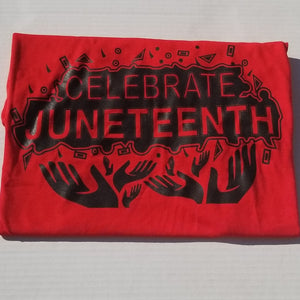 Celebrate Juneteenth Tee-Free Since 1865-Juneteenth Celebration-For the Culture-African American Culture