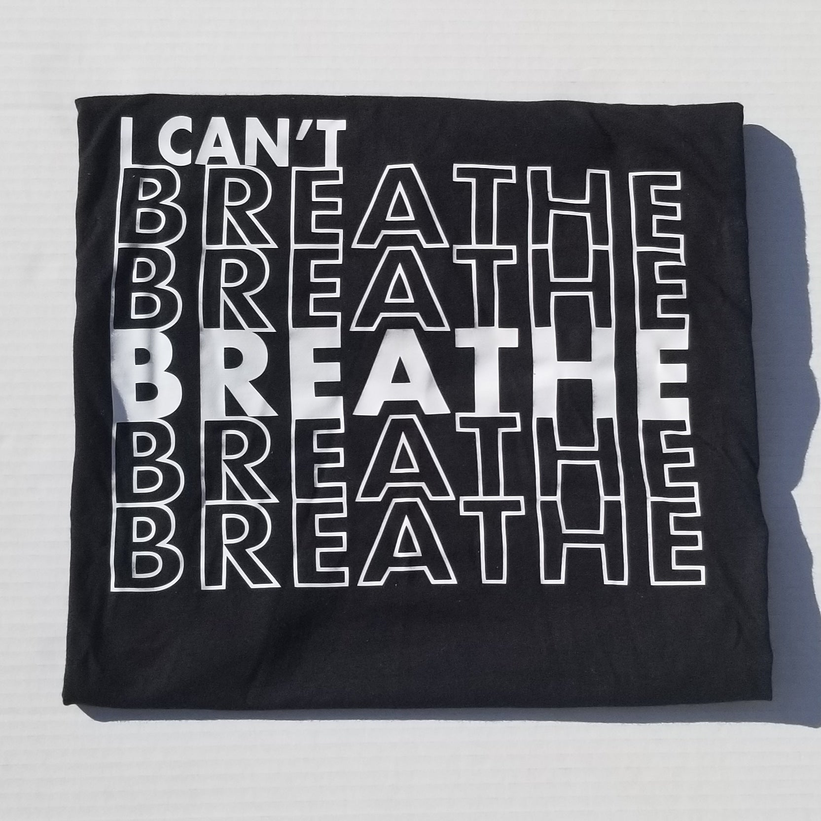 I Can't Breath-Black Lives Matter-For the Culture-African American Culture