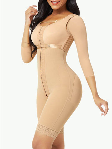 Sculptshe 3-in-1 Postsurgical Body Shaper with Removable Bra