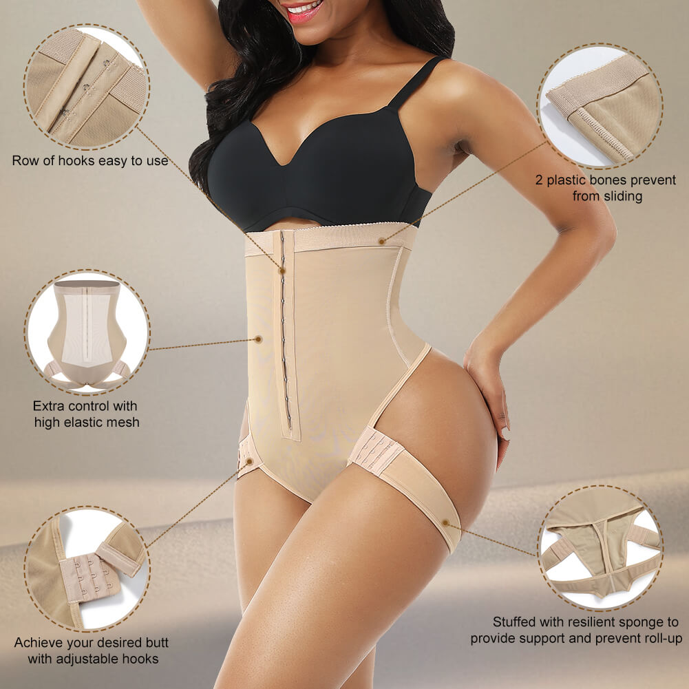 Sculptshe Butt Lifter Shaper with Adjustable Strap
