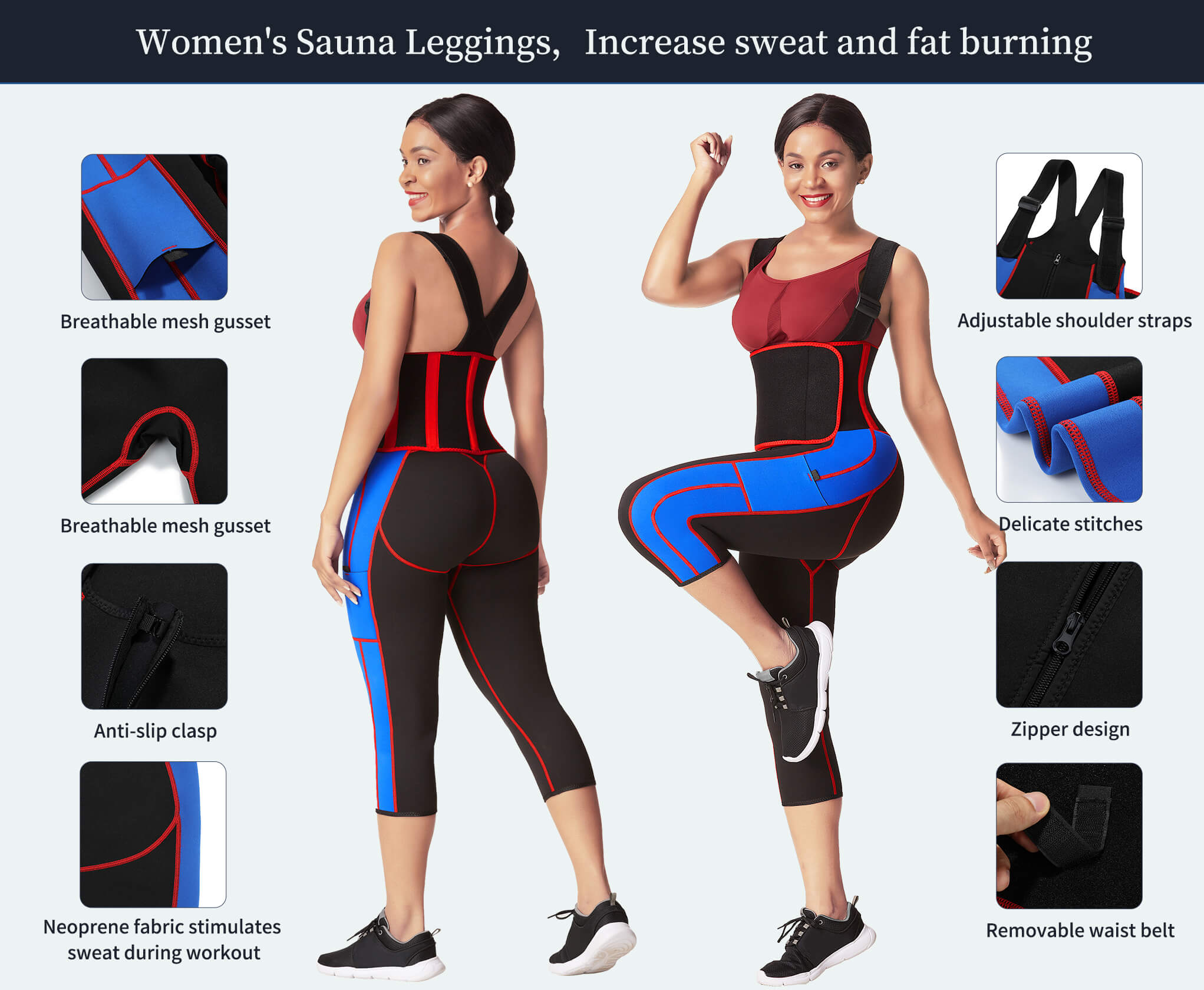 Sculptshe Full Body Sweat Sauna Suit