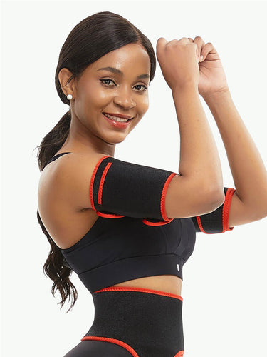 Sculptshe 2 Pcs Arm Trimmers With Pockets Instantly Slims