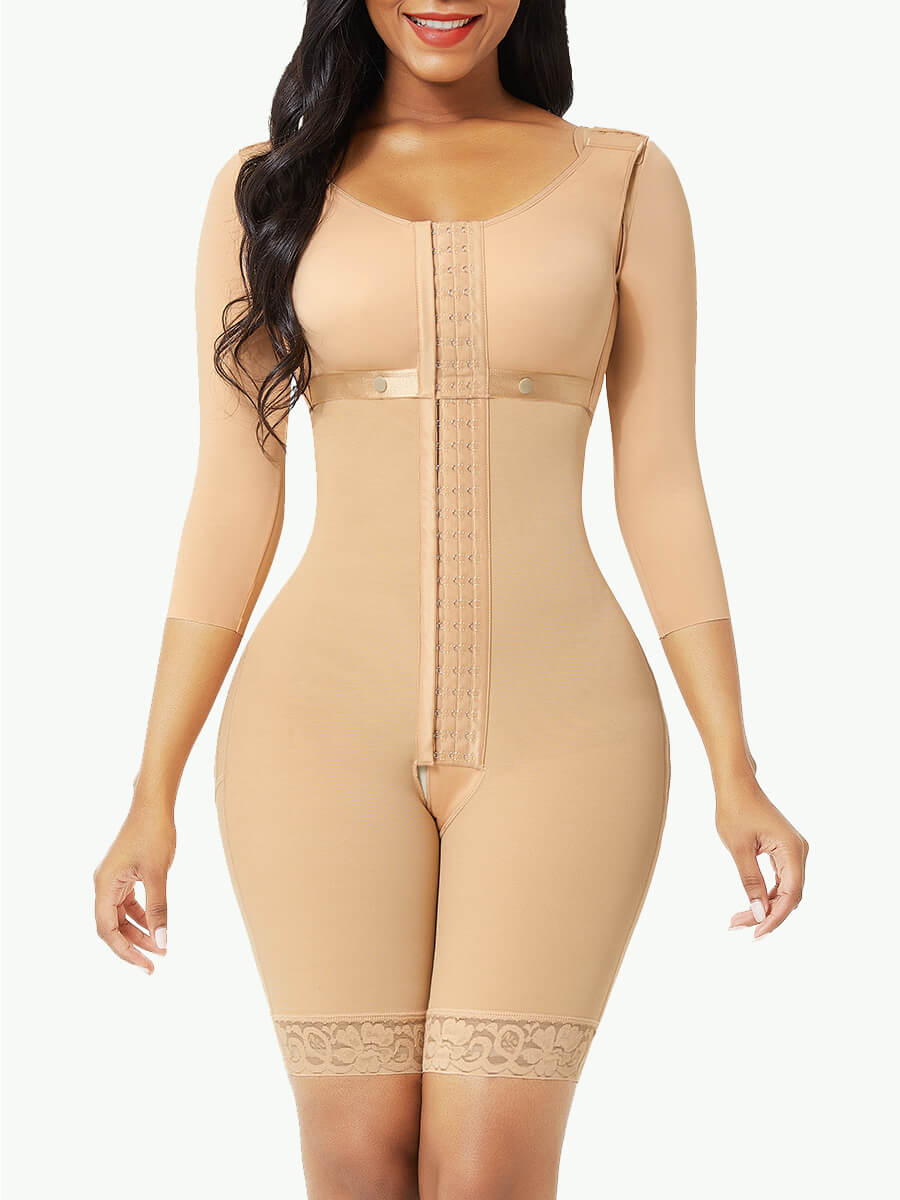 Postsurgical Body Shaper with Removable Bra