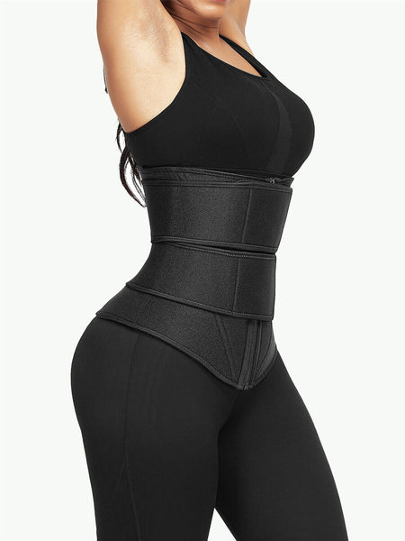 Double Belt Sweat Waist Trainer