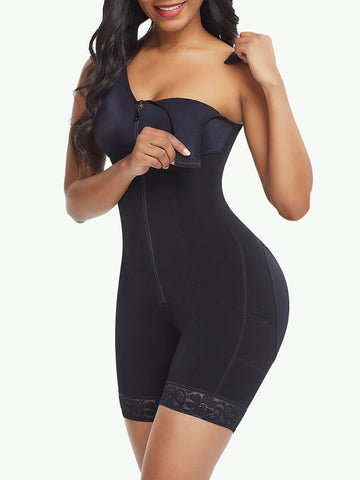 Sculptshe Full Bodysuit Zippered Slimming Shaper