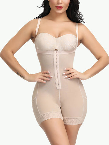 Sculptshe High Waist Open Bust Butt Lifter Bodysuits