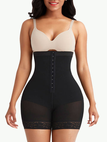 Sculptshe Removable Pads Butt Lifter Tummy Control Shorts