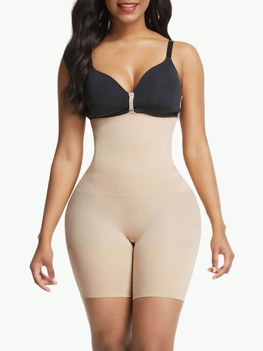 Sculptshe Seamless Smoothing Tummy Training Butt Lifter Shorts
