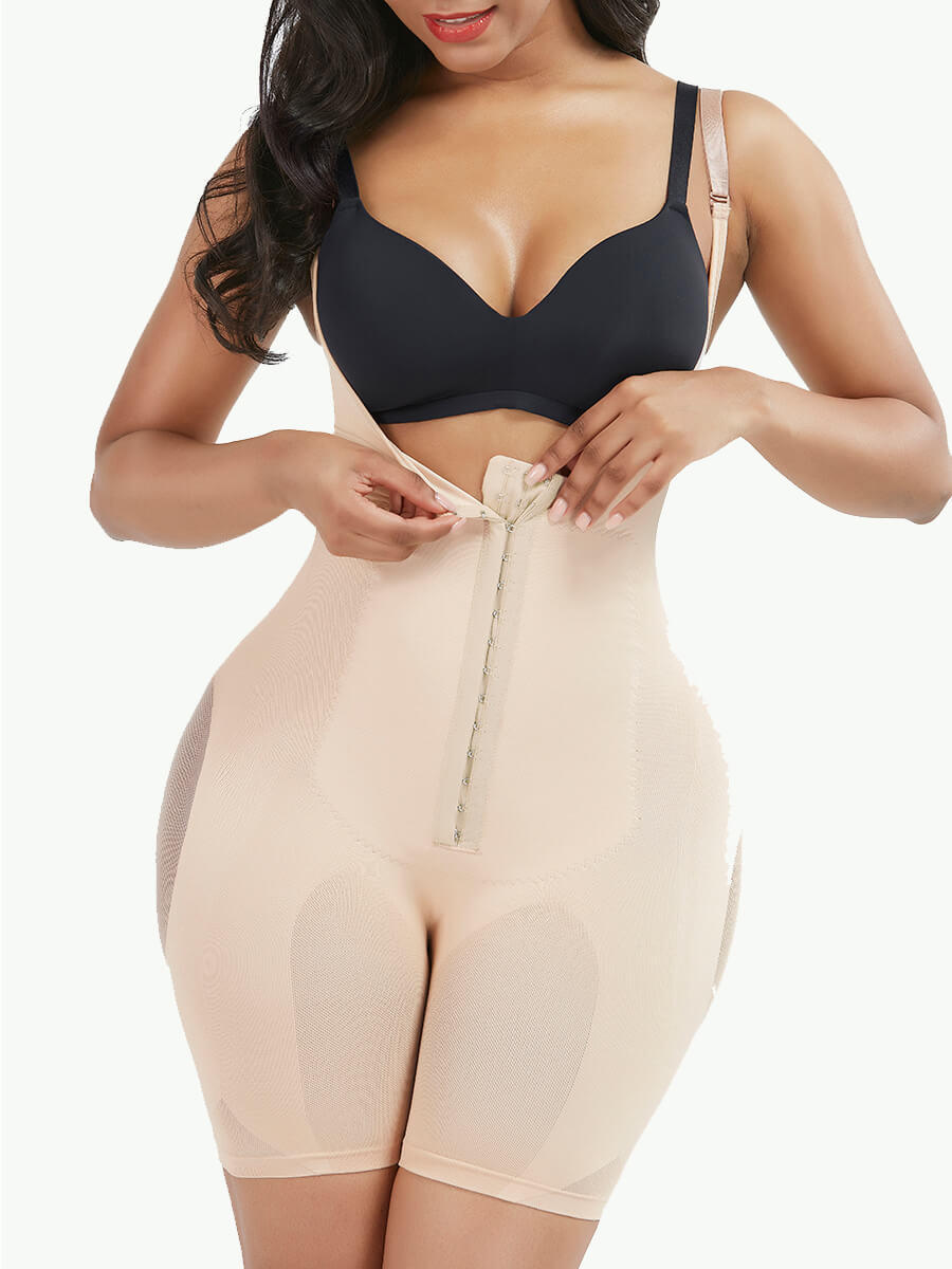 Sculptshe Seamless Tummy Control Full Body Shaper