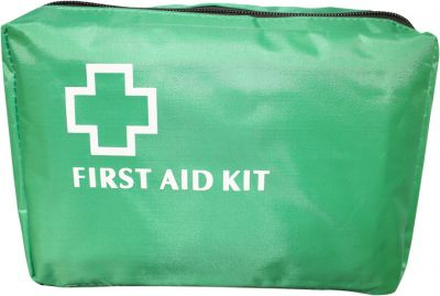 Green First Aid Bags Medium