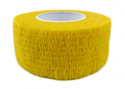 Cohesive Bandages YELLOW 25mm x 4.5m