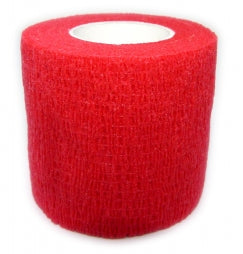 Cohesive Bandages RED 50mm x 4.5m