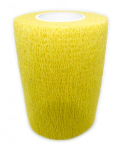 Cohesive Bandages YELLOW 75mm x 4.5m