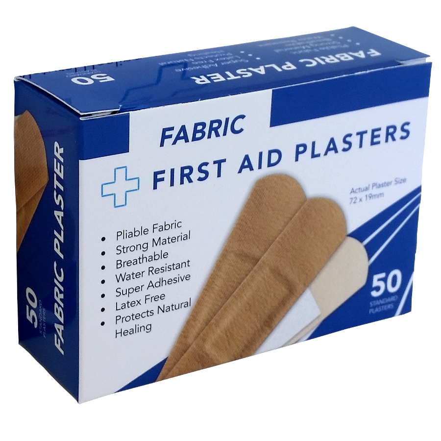 Fabric Plasters 50's Boxed