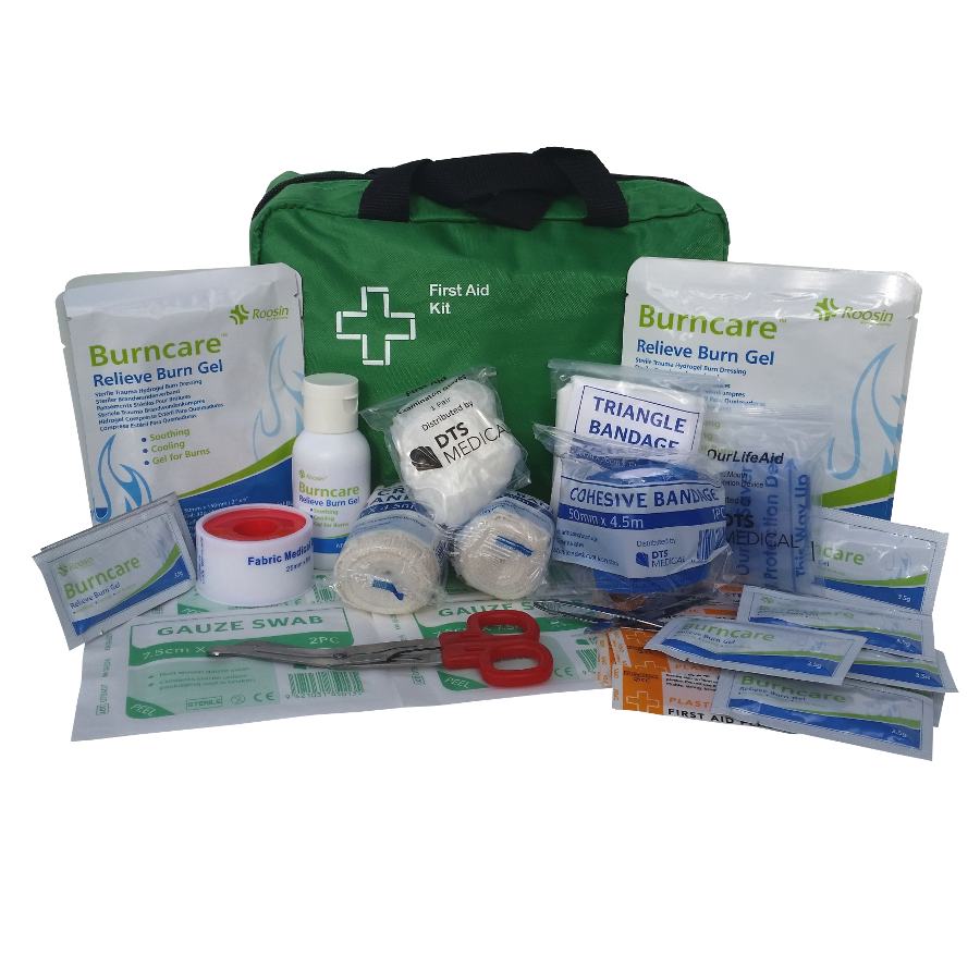 Medium Burns First Aid Kit - Soft Pack