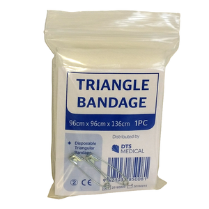 Triangle Bandage (2 Safety Pins)