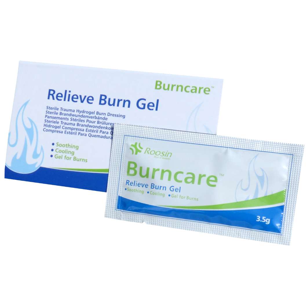 Burn Gel, 6 pack Sachet