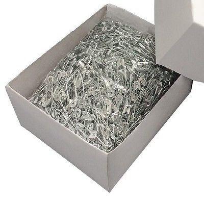 Safety Pins - Box of 1000