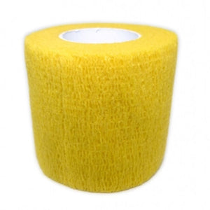 Cohesive Bandages YELLOW 50mm x 4.5m