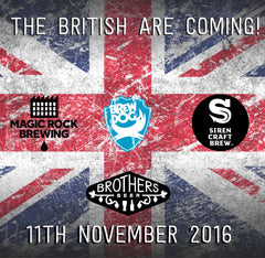 The British are Coming! 11th November poster