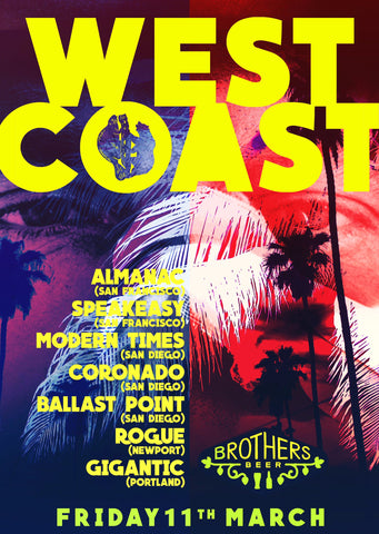 West Coast USA Takeover poster