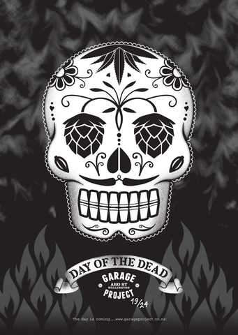 Garage Project - Day of the Dead - 5th November poster