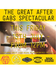 GAGS - The Great After GABS Spectacular - 15th July 2016 poster