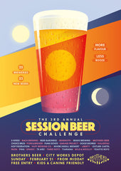Session Beer Challenge - Sunday February 21st from 12pm poster