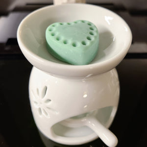Ceramic Wax Melt / Essential Oil Warmer with Tea Light Holder