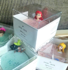 Kids Soap Bar with Toy (Disney Princesses)
