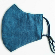 Load image into Gallery viewer, Face Mask (Cotton Denim)