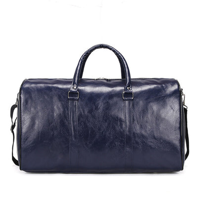 Large capacity Outdoor Leather Bag