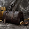 MAHEU Leather Hand Luggage Bags