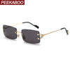 Peekaboo Rimless Sunglasses