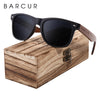 BARCUR Black Walnut Sunglasses