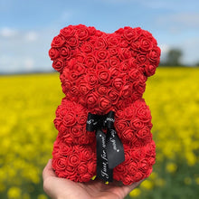 Load image into Gallery viewer, Luxury Rose Teddy Bear