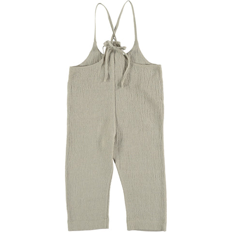 Jumpsuit in lino naturale