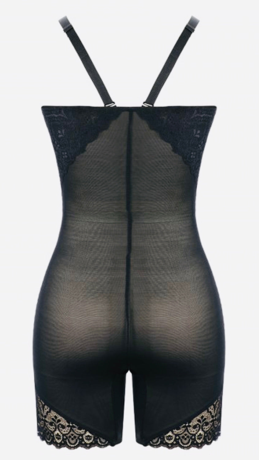 Shape Me Out Lace Black