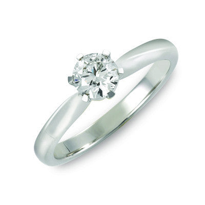 Classic Round Brilliant Cut Solitaire 0.50ct