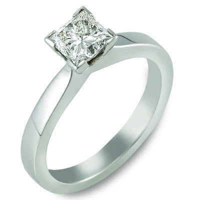 Passion 8 Princess Cut Solitaire