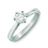 Classic Round Brilliant Cut Solitaire