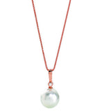 Rose Gold South Sea Pearl Pendant