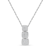 Trilogy Design Diamond Pendant