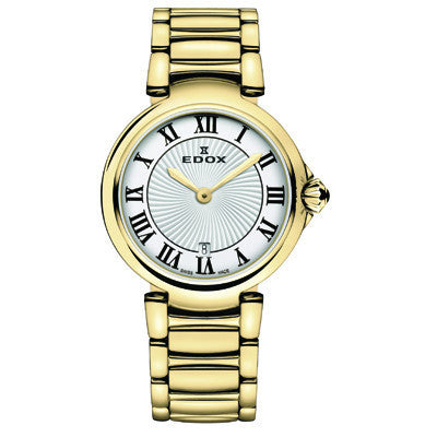 Edox Ladies Dress Watch - 57002 37 RM AR