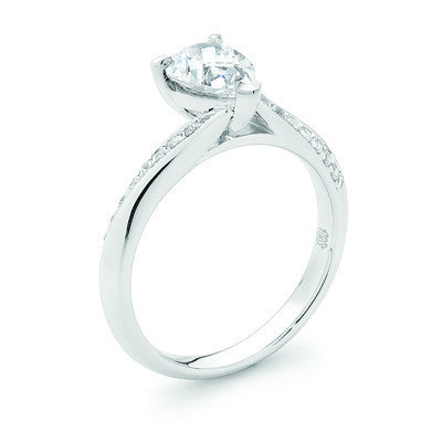 Beautiful Pear Cut Diamond Ring