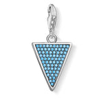 CC1579 - Turquoise CZ Triangle
