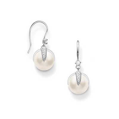 Freshwater -  Pearl Earrings -TH1850WH