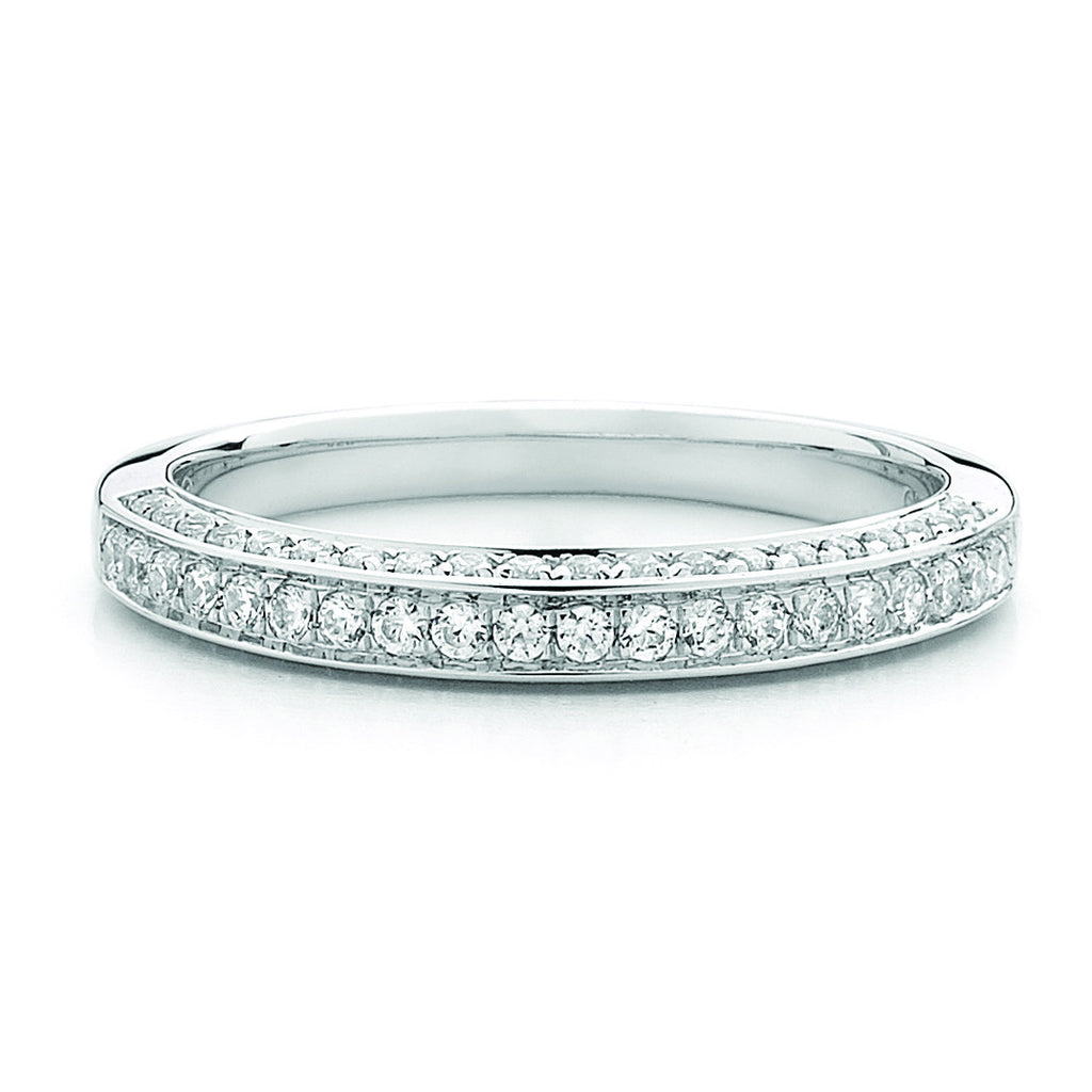 Diamonds By You White Gold Diamond Wedding Ring