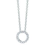 Circle Design Diamond Pendant